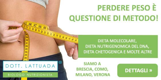 perdere peso con la dieta del nutrizionista