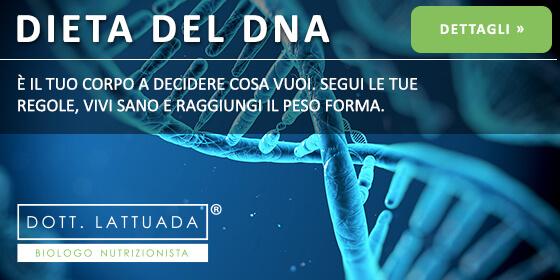 dieta genetica del dna con il nutrizionista